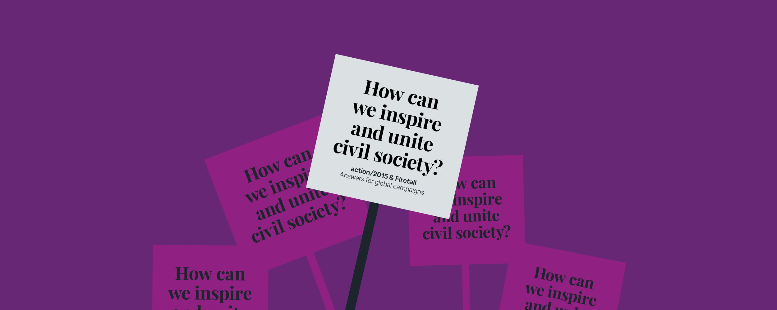 How can we inspire and unite civil society