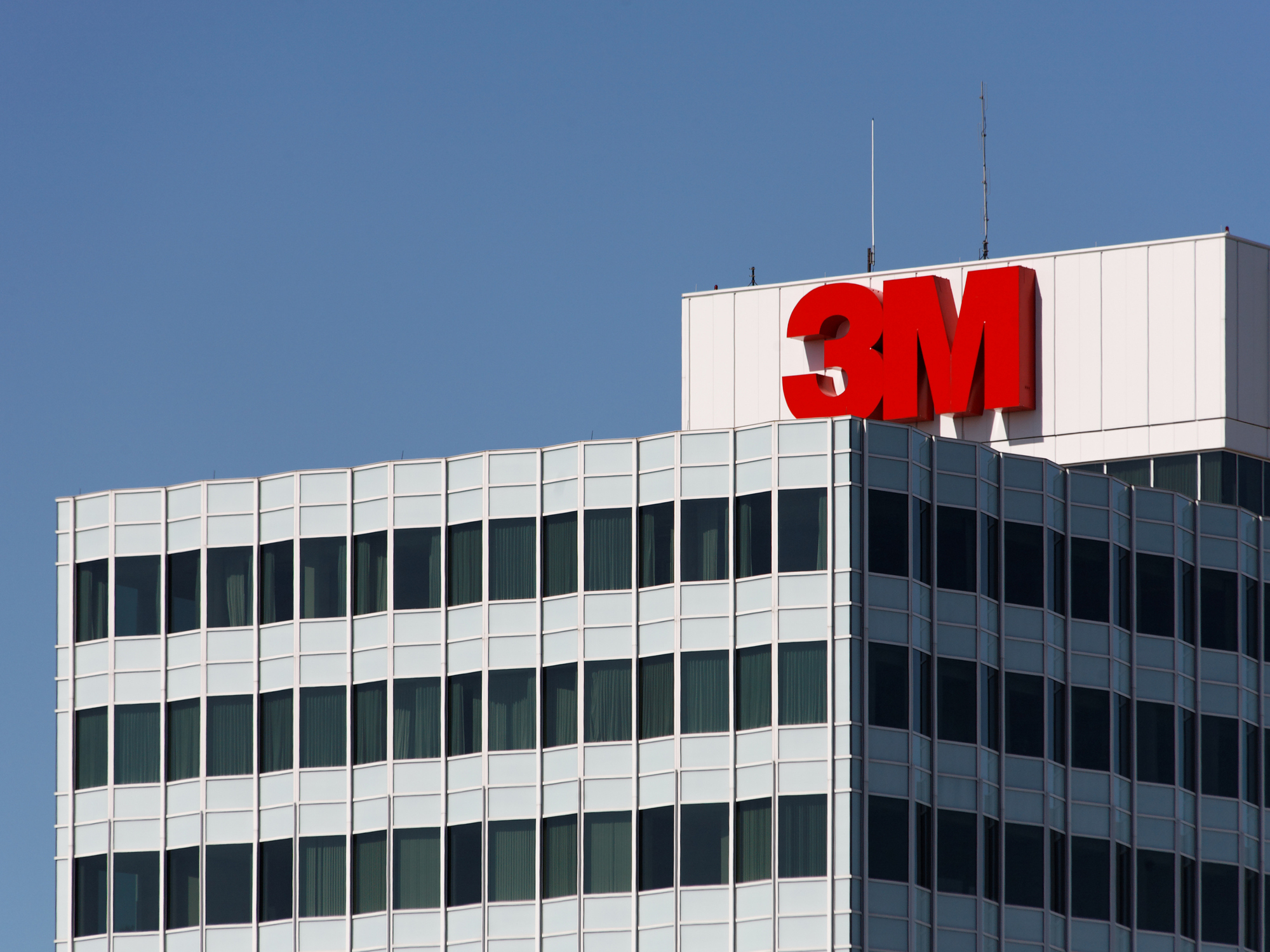 Photo of the 3M headquarters in St. Paul, Minnesota