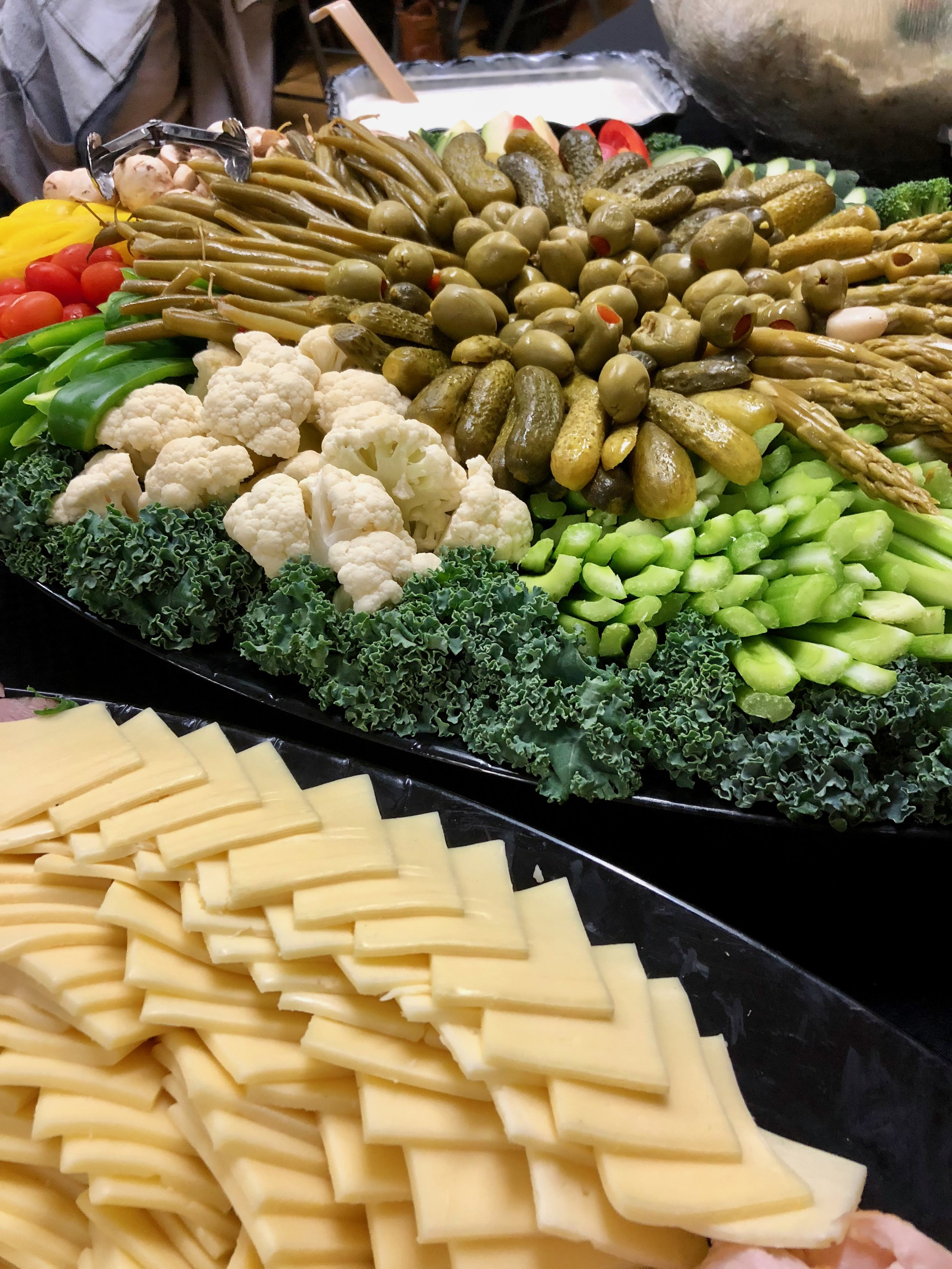 Hors d'oeuvre spread | Bellingham Catering