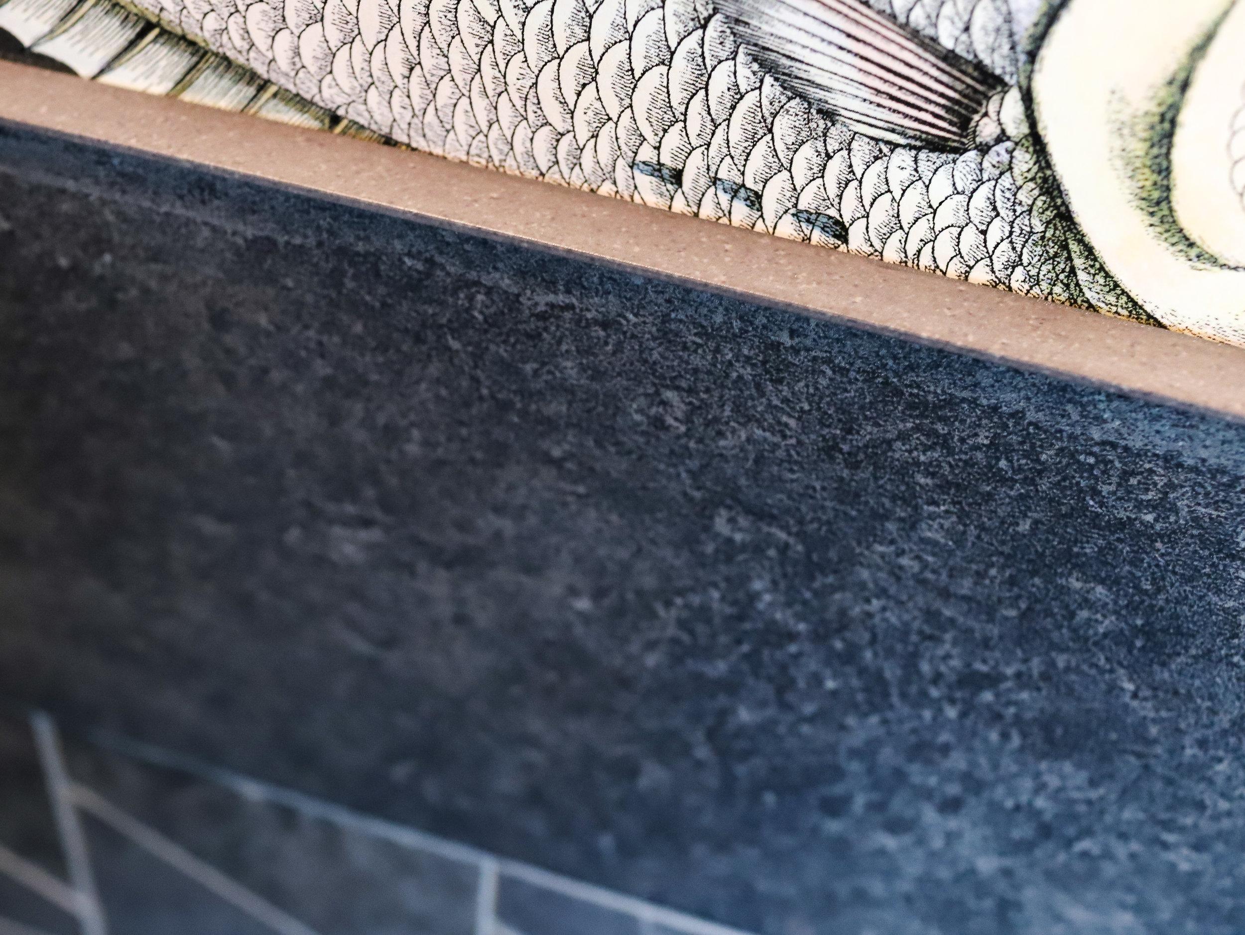 Staunton Topps Tiles, Cole and Son Fornasetti Wallpaper