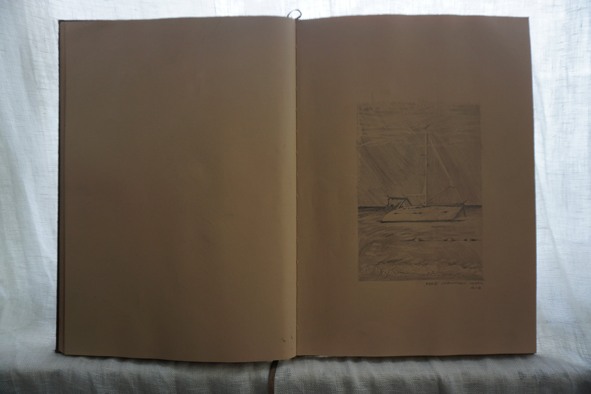 kerbi-urbanowski-catamaran-sketchbook-negril-december