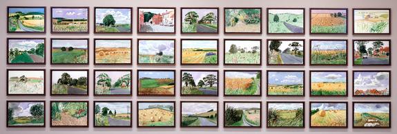 David Hockney Midsummer: East Yorkshire 2004
