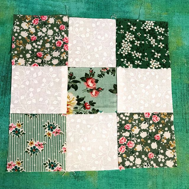 June Quiltcrates a finished block.