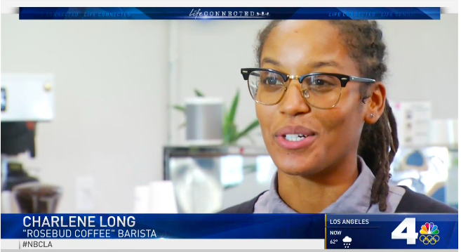 NBC News - Learn more about our mission and meet one of our baristas on NBC4 News LA.