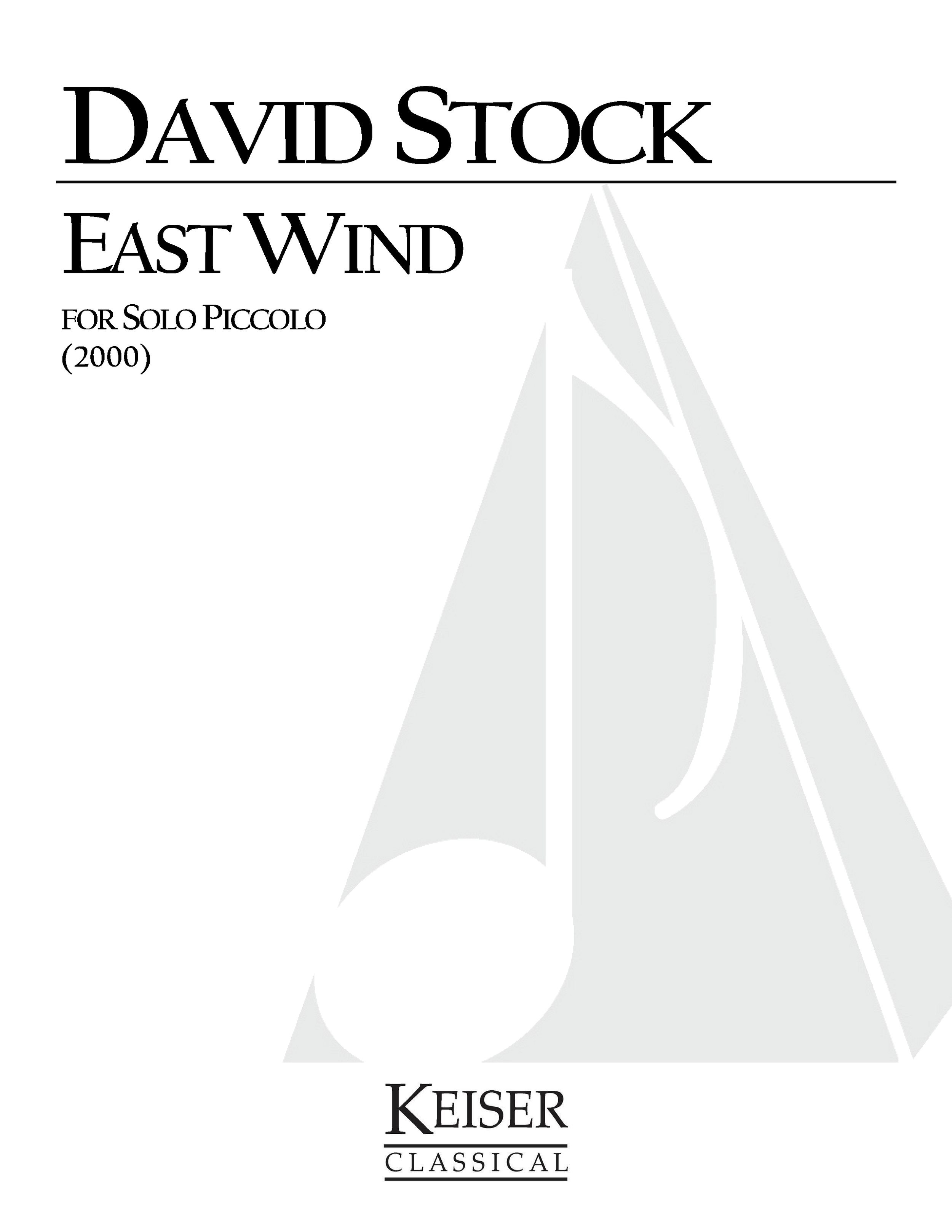 East Wind (2000) - Piccolo SoloRent/Buy: Keiser Music