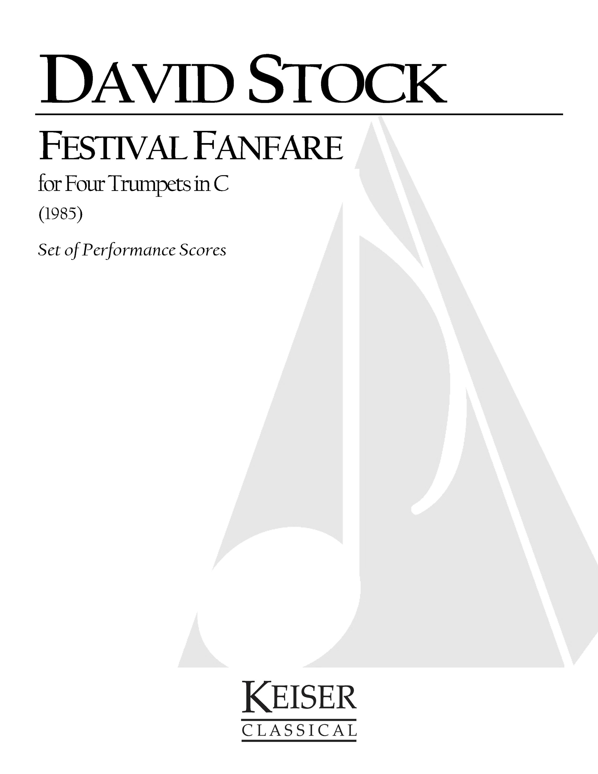 Festival Fanfare (1985) - 4 TrumpetsRent/Buy:Keiser Music