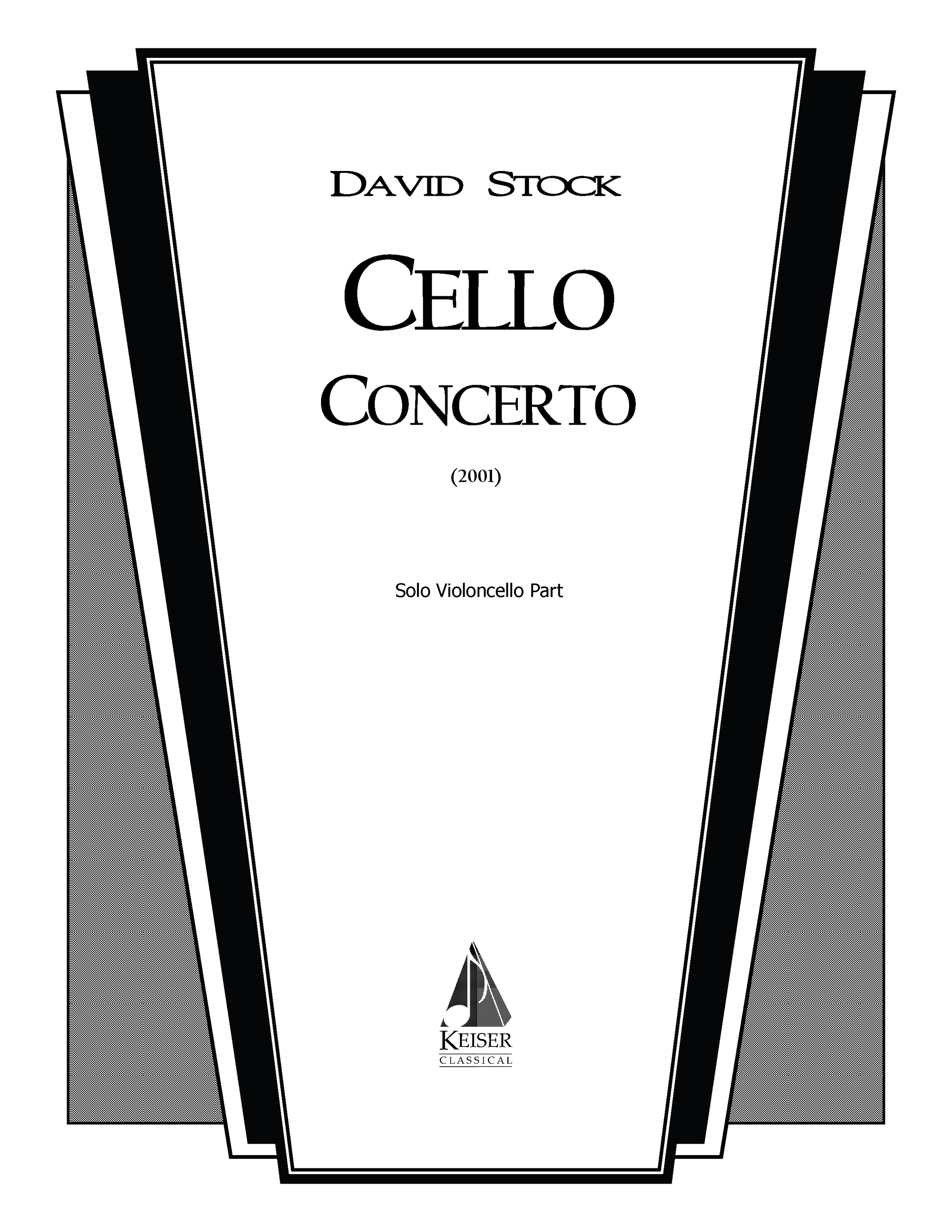 Cello Concerto (2001) - Cello Solo: 3(1d Picc).3(1d EH).3(1d BCl).2+Cbsn: 4.3.3.1: Timp.Perc(3).Hp: StrRent/Buy:Keiser Music