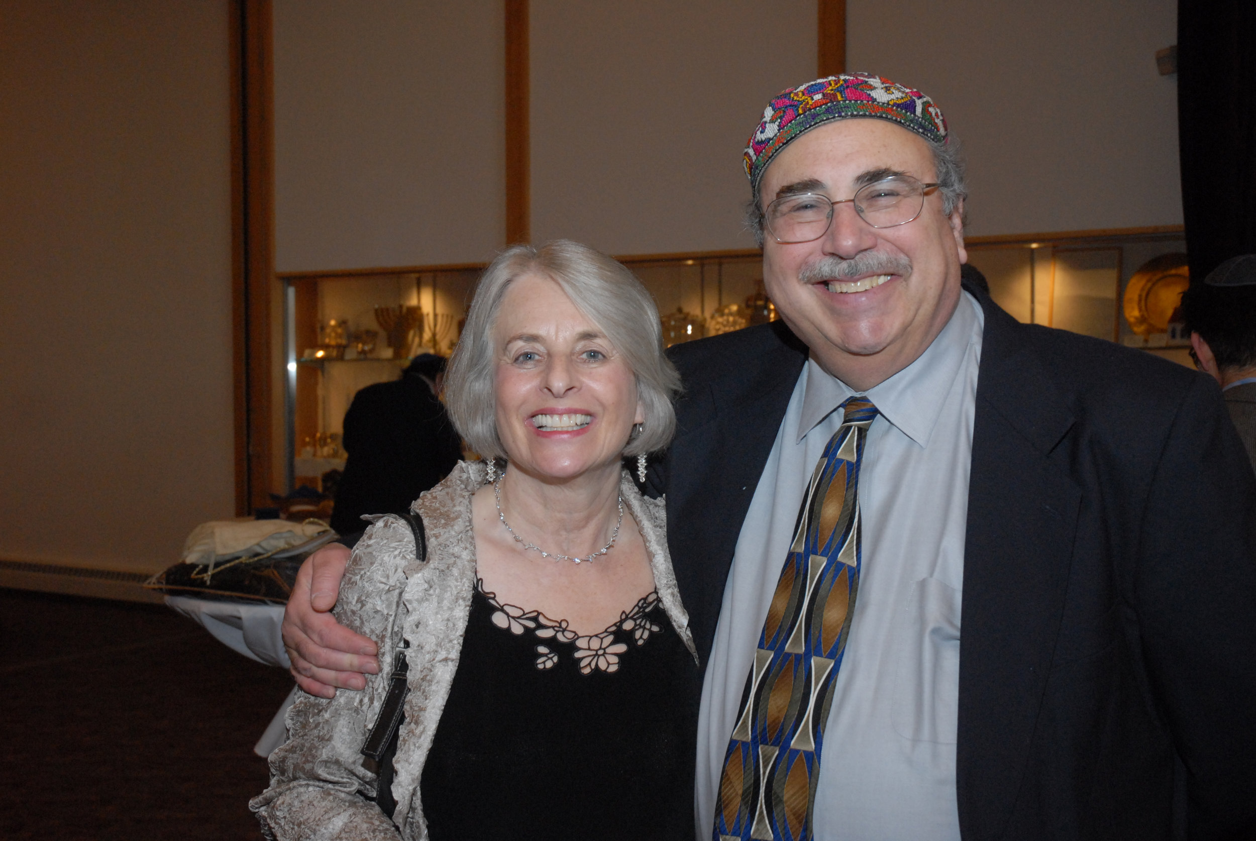 David and loving wife, Celia