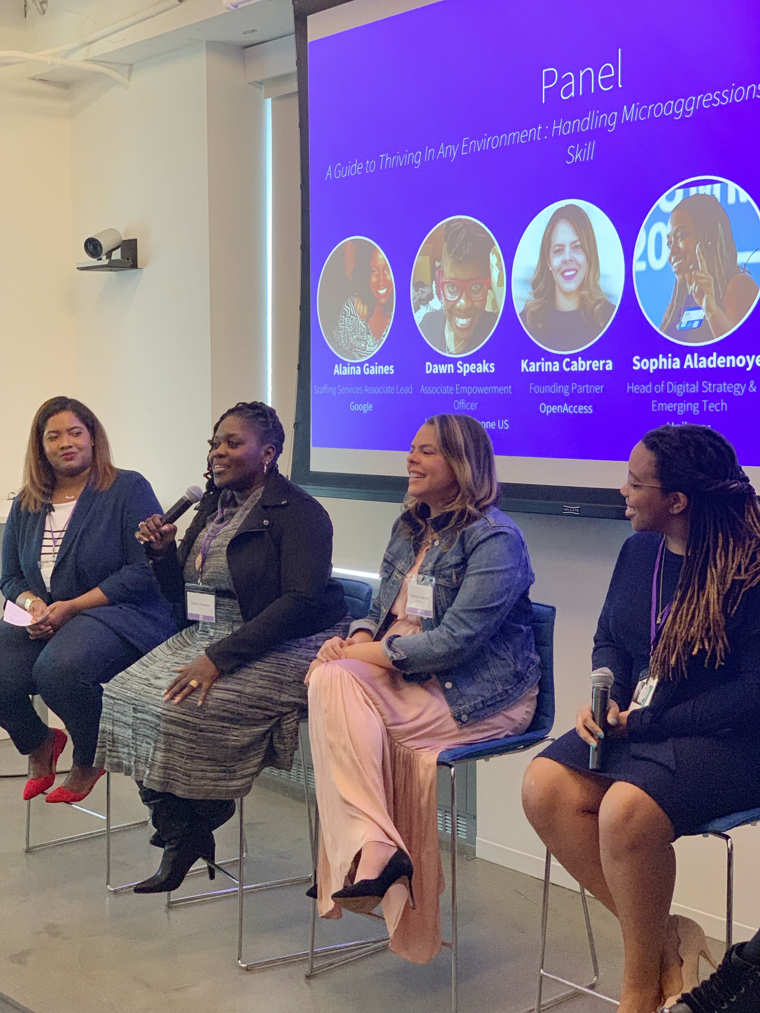 LinkedIn Conference For Women of Color - As a young professional I often thought that I didn't need too many people, mentors and sponsors to succeed. I was prideful and believed I could