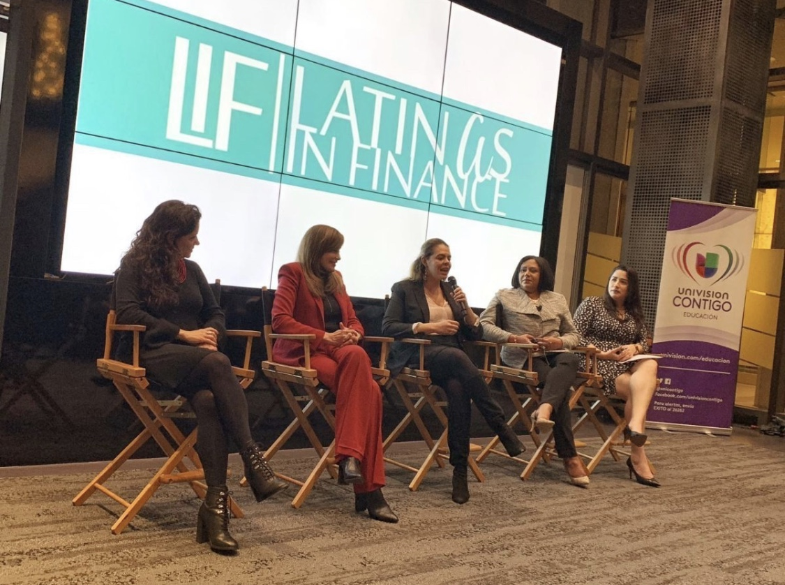 Impostor Syndrom Panel - Recently I met a lot of women who shared their struggle with not belonging in the workplace. They question their abilities and talents daily. I hope that my story of how I've struggled with self doubt and what I do to move passed those negative thoughts will inspire them to break free from this way of thinking. Thank you to Latinas In Finance and Univision Communications Inc. for convening this important conversation.