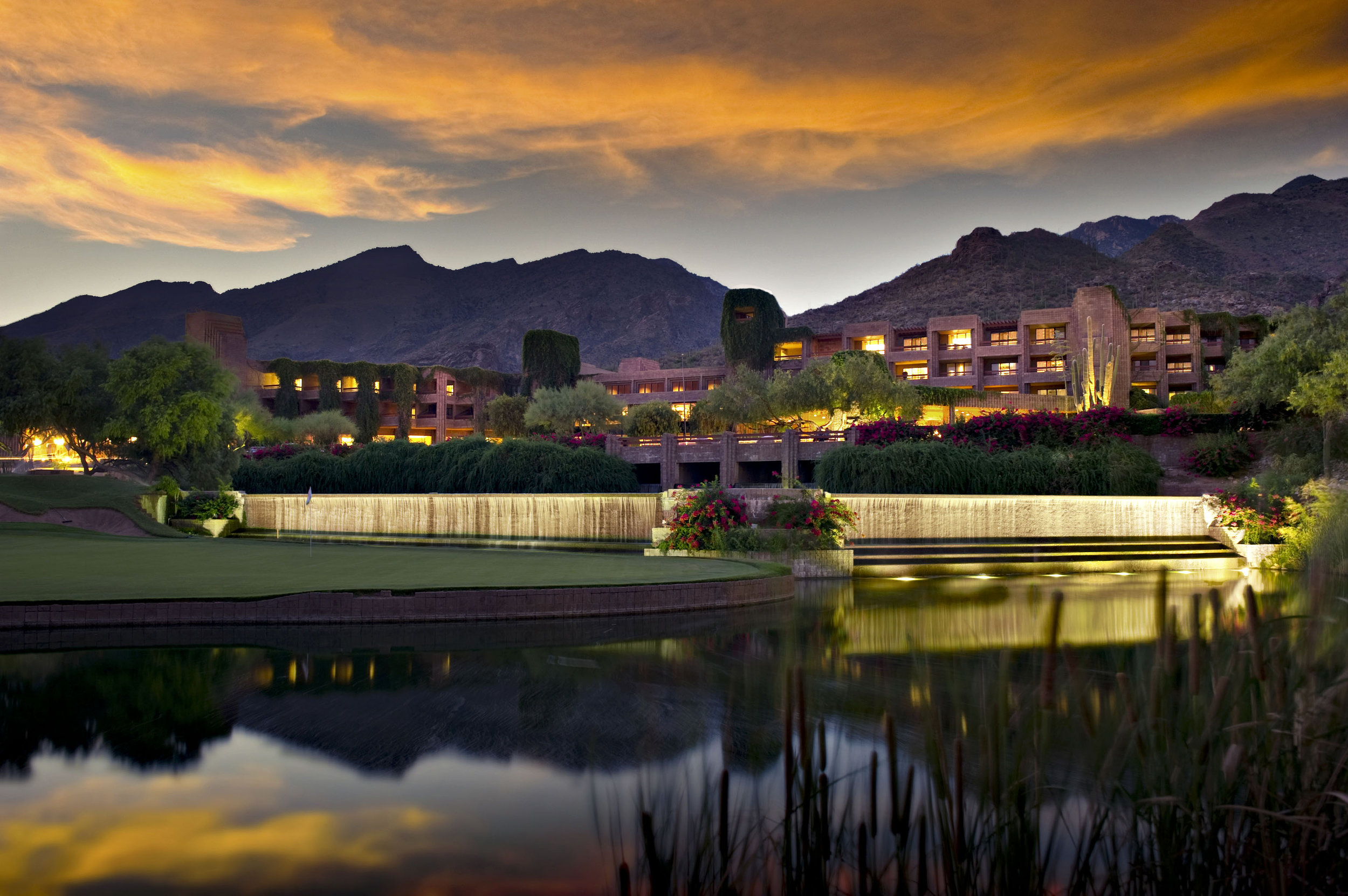 The beautiful Loews Ventana Canyon Resort, host to the 2020 Tour & Travel Exchange