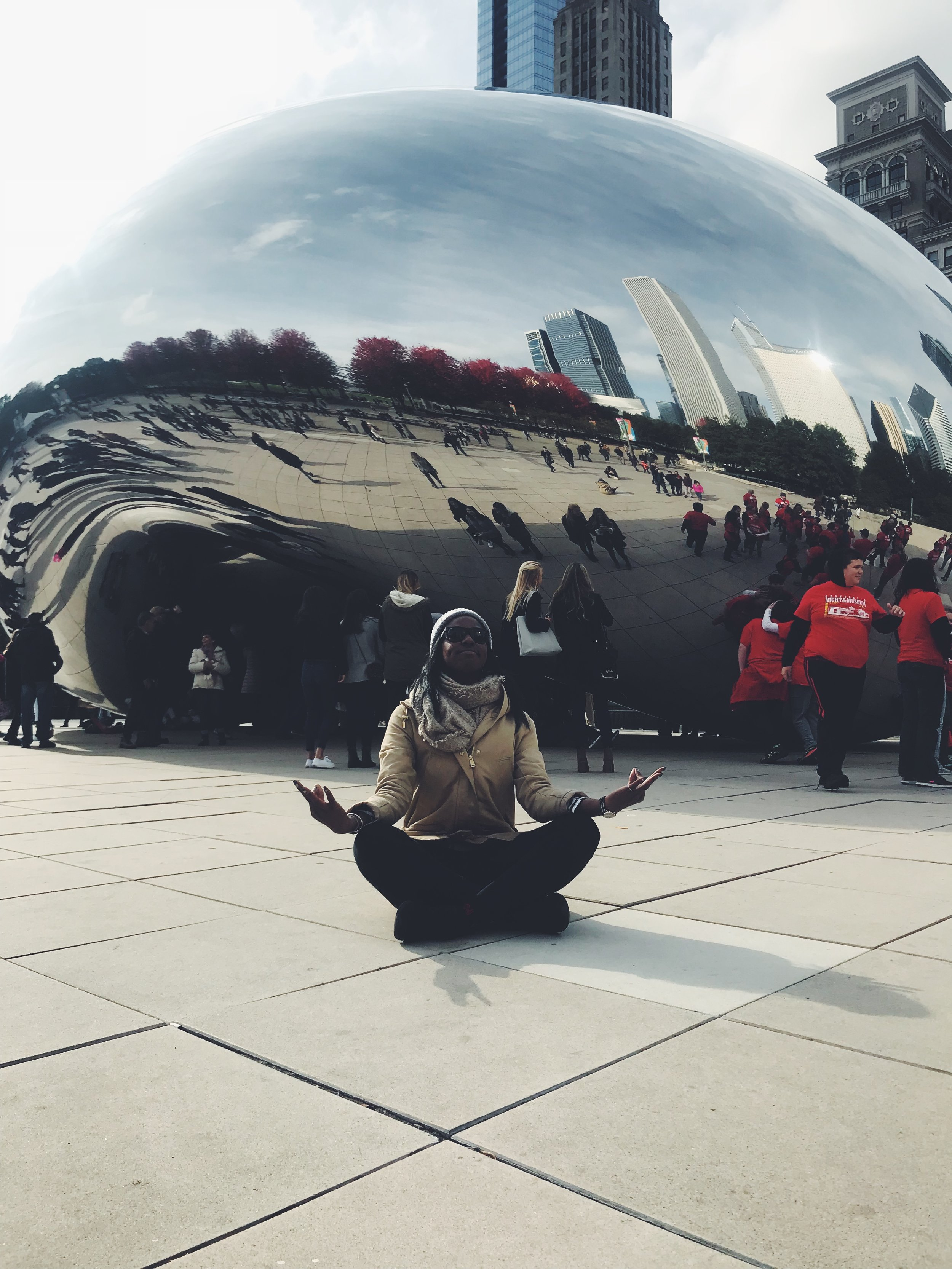 A moment of zen in Chicago