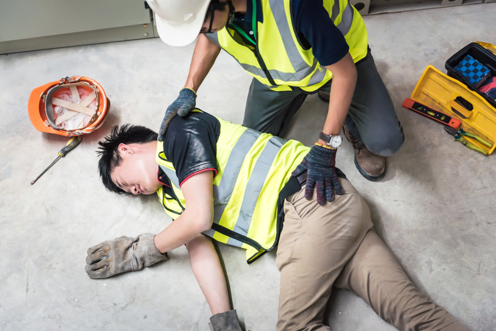 injured in the workplace
