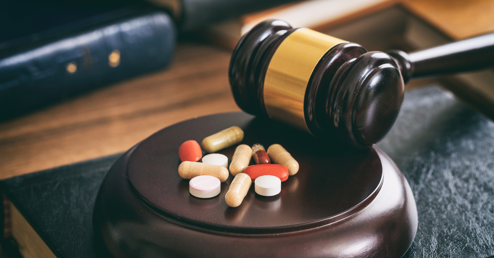 Drug Law Concept