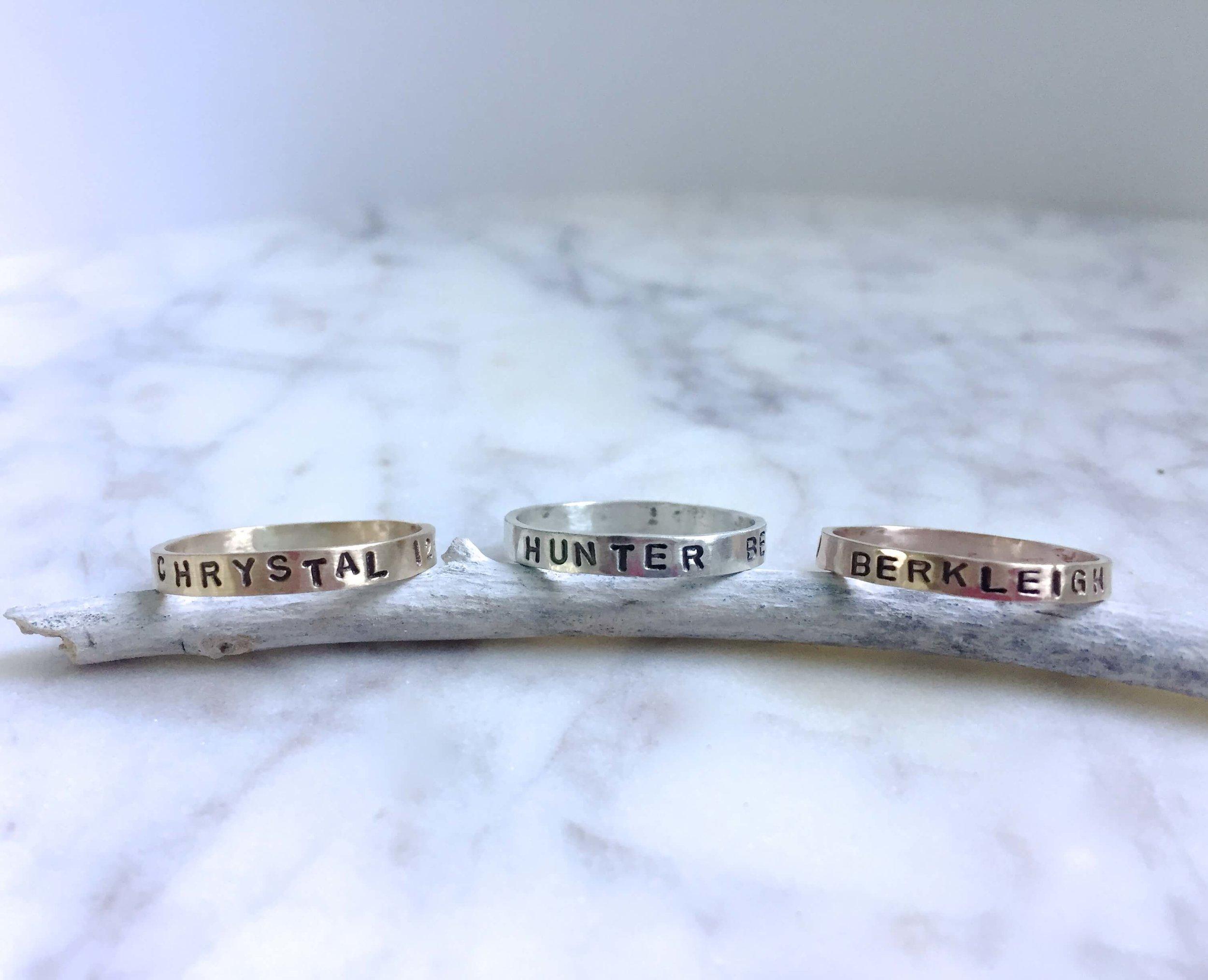 Erin DeLargy Jewelry Spinner Rings