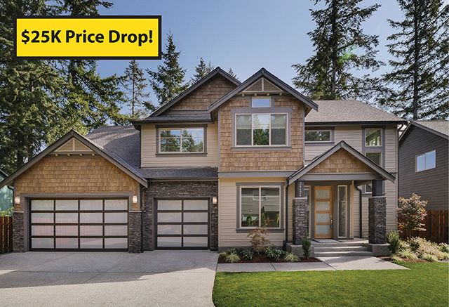 $25k price drop on currently listed homes in our Kent and Maple Valley communities! Visit our website for current availability and pricing. Which home is your favorite?! Comment below 👇🏽