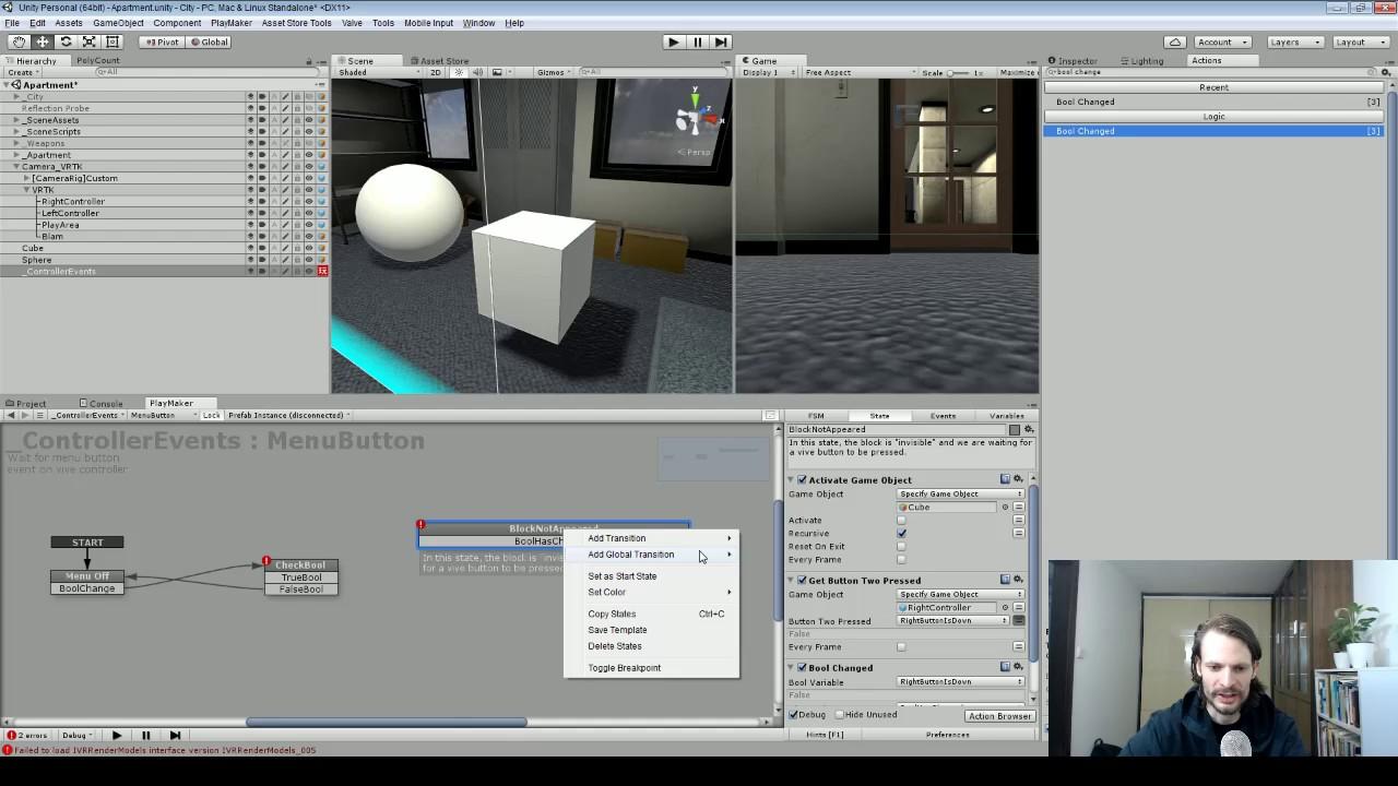 STAGE II: VR Development