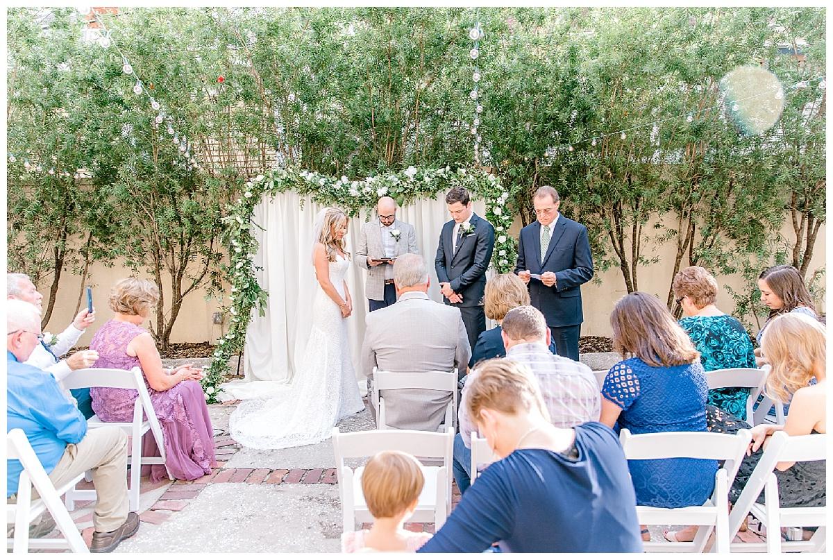 The Whitman Wedding Ceremony Savannah Georgia