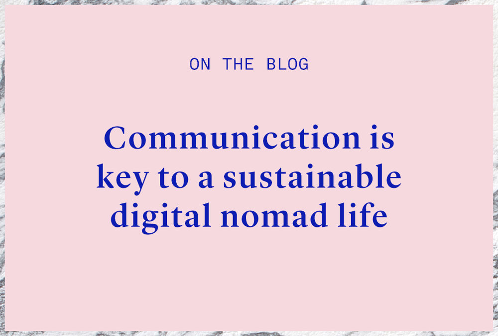 digital nomad copywriter