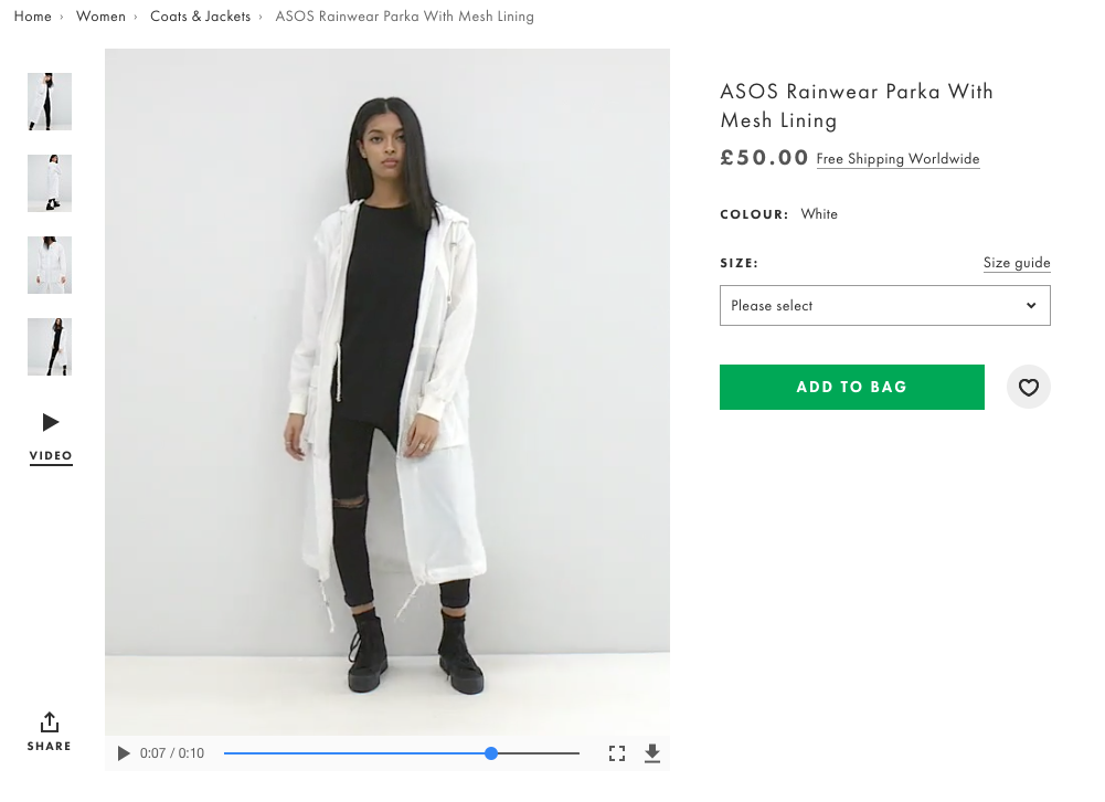 Product videos can greatly increase ecommerce conversions
