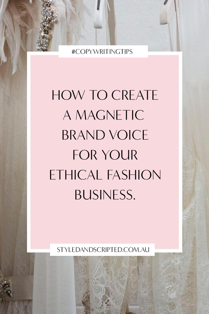 ethical brand copywriting