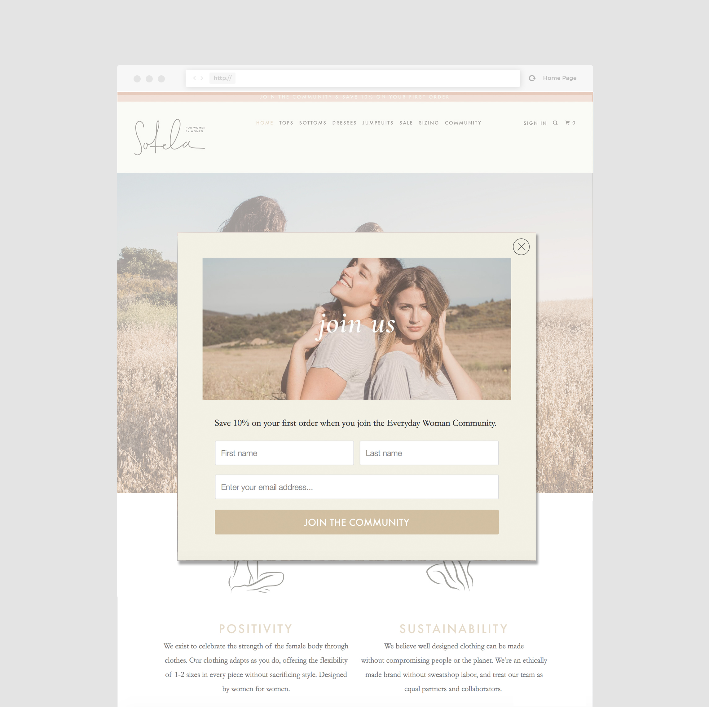 ethical-clothing-email-popup-design-telltale-design-co