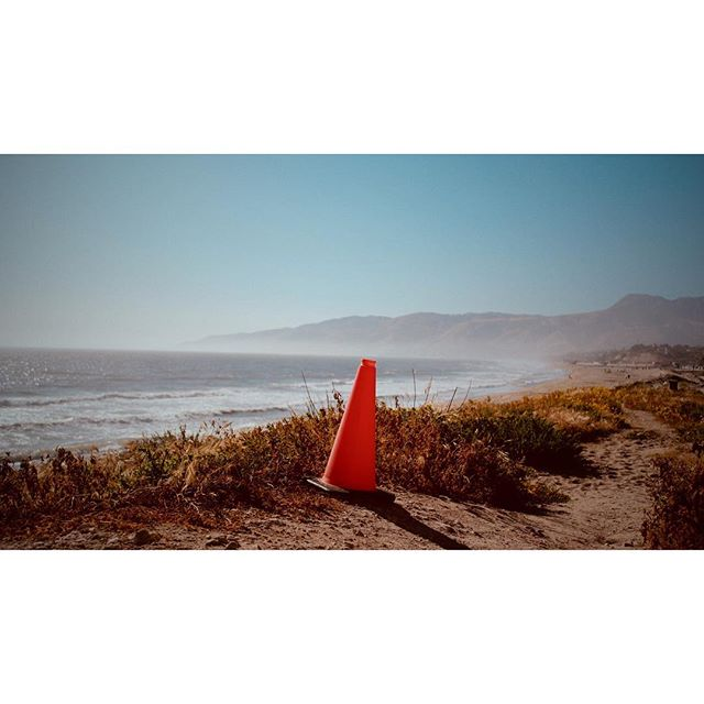 Location scout. Just pretend the cone is a dog.