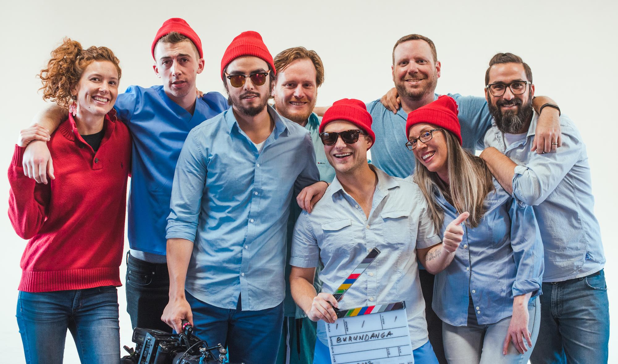 Esteban Was Eaten Crew and Cast Photoshoot (Minus Tom + Nick)