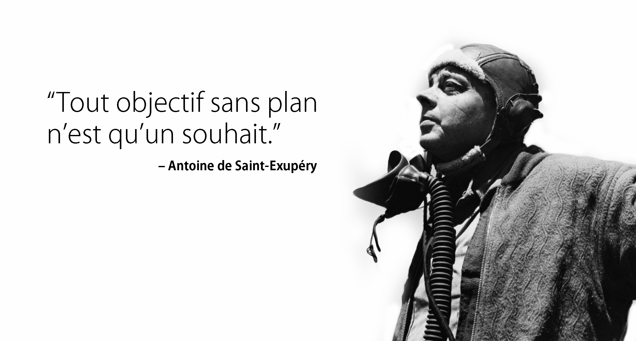 Antoine de Saint-Exupéry - écrivain, journaliste et pionnier de l'aviation.