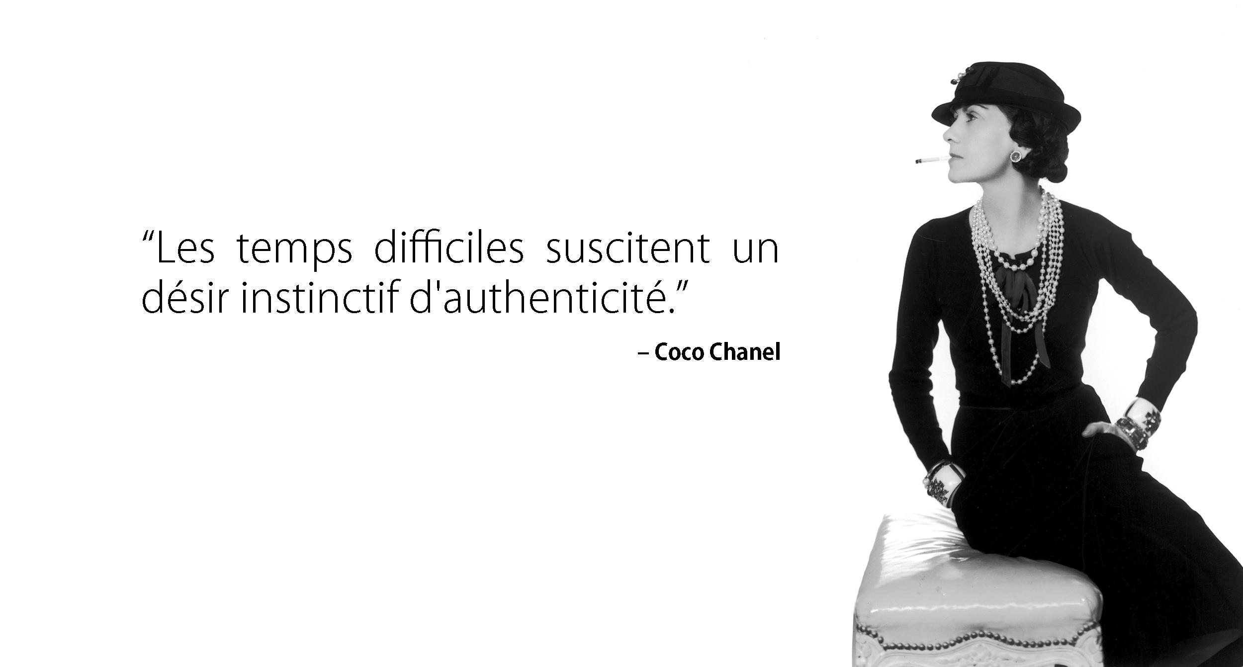 Coco Chanel par Man Ray, circa 1935.