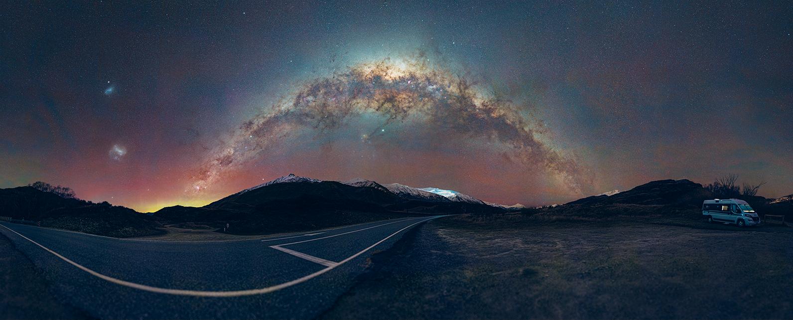 Milky Way near Wanaka