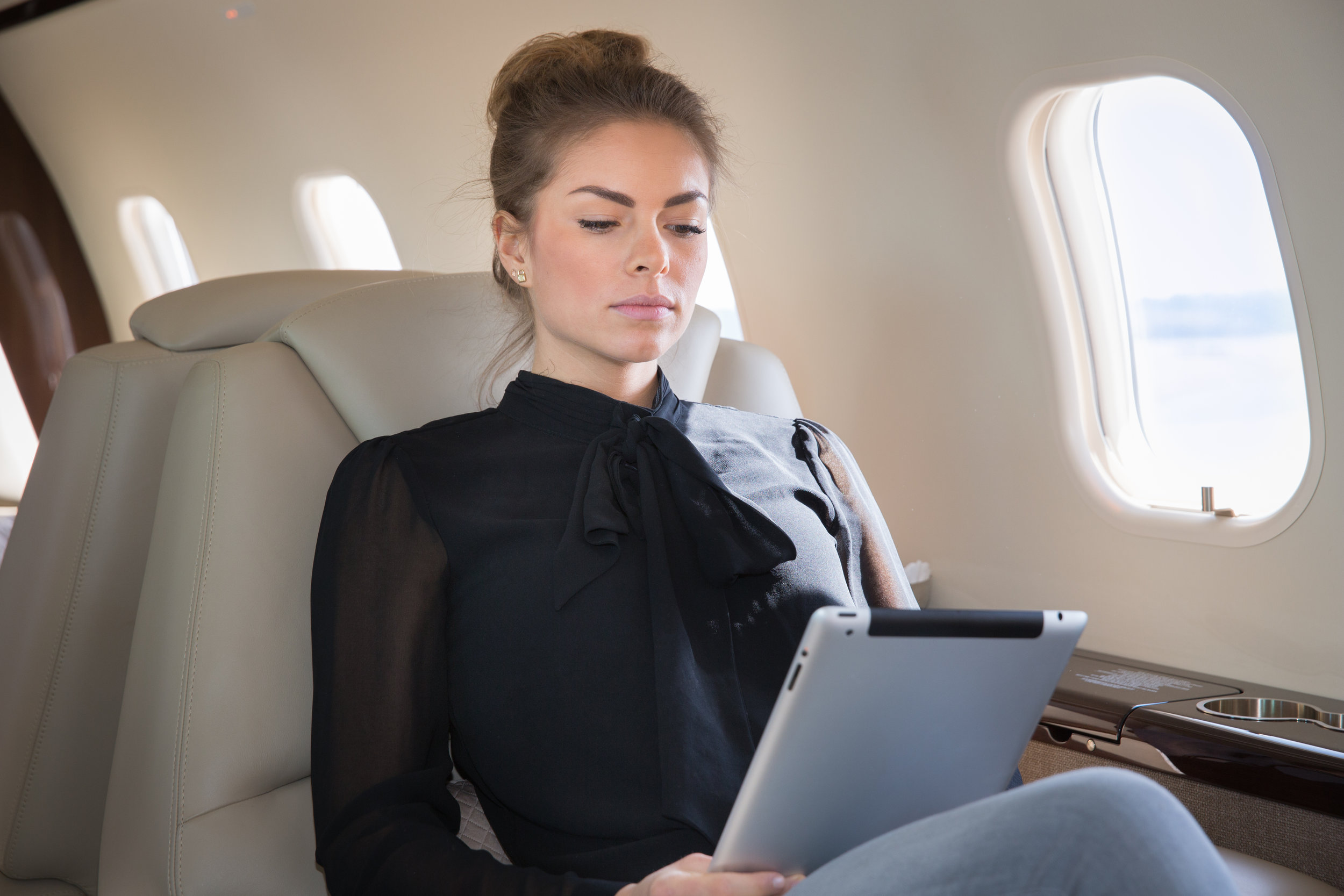 Onboard WiFI? Check. - Be connected while you fly. WiFi available upon request.