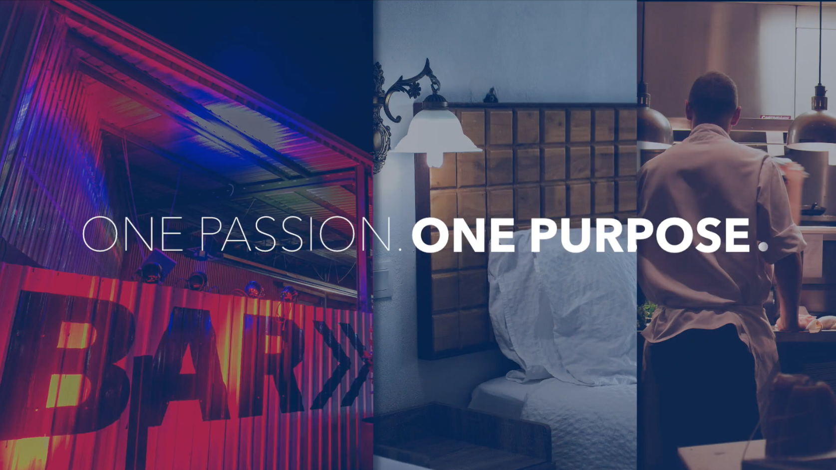It's a simple idea, but a powerful one. The THA represents an industry which is the vanguard of local tourism, the first port of call and the custodian of memories. In 'One Passion: One Purpose' we codified that in a rallying cry.