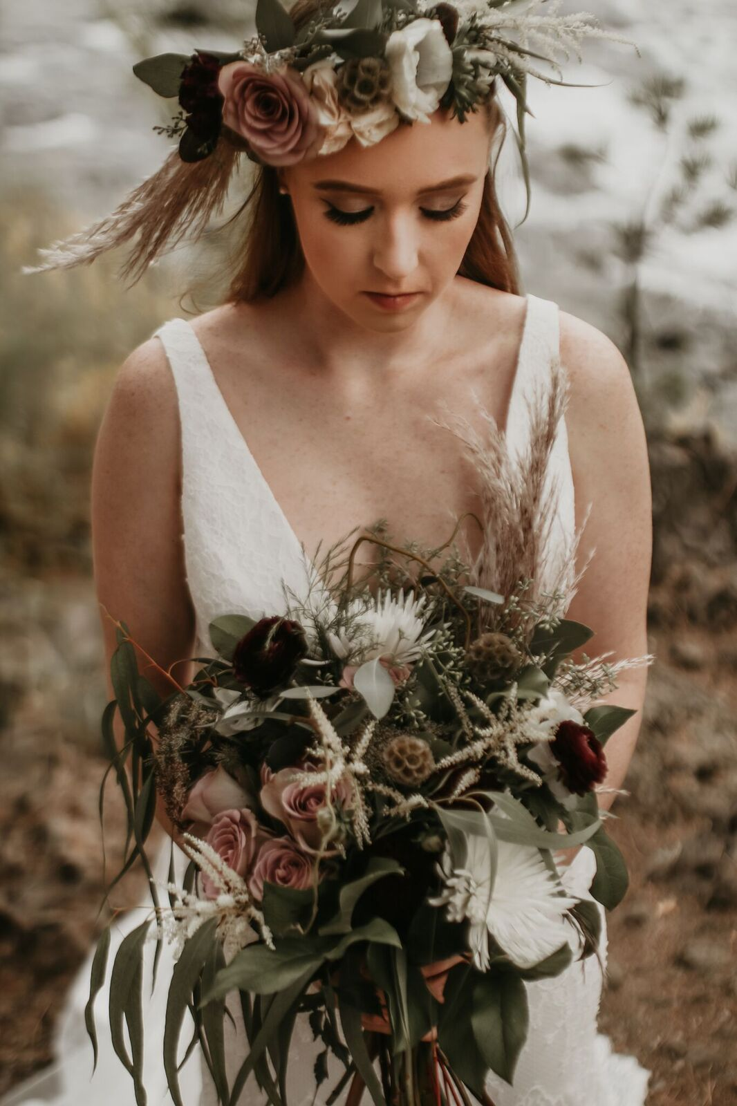 spokane river wedding photo shoot image