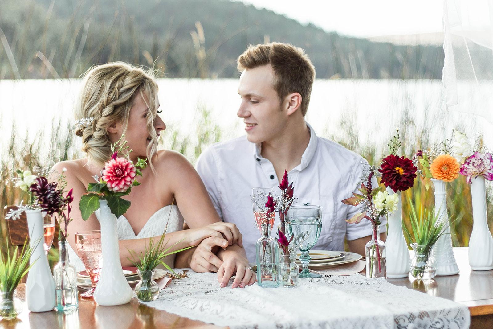 Liberty Lake Washington Wedding Dress Photo shoot 4