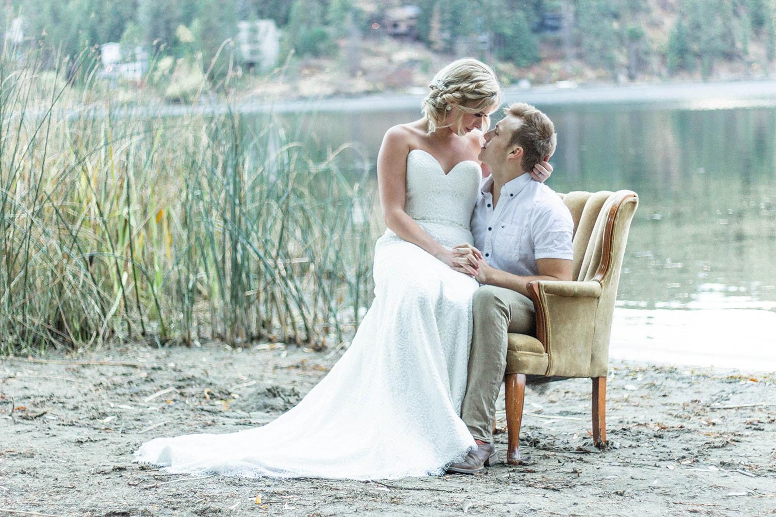 Liberty Lake Washington Wedding Dress Photo shoot 6