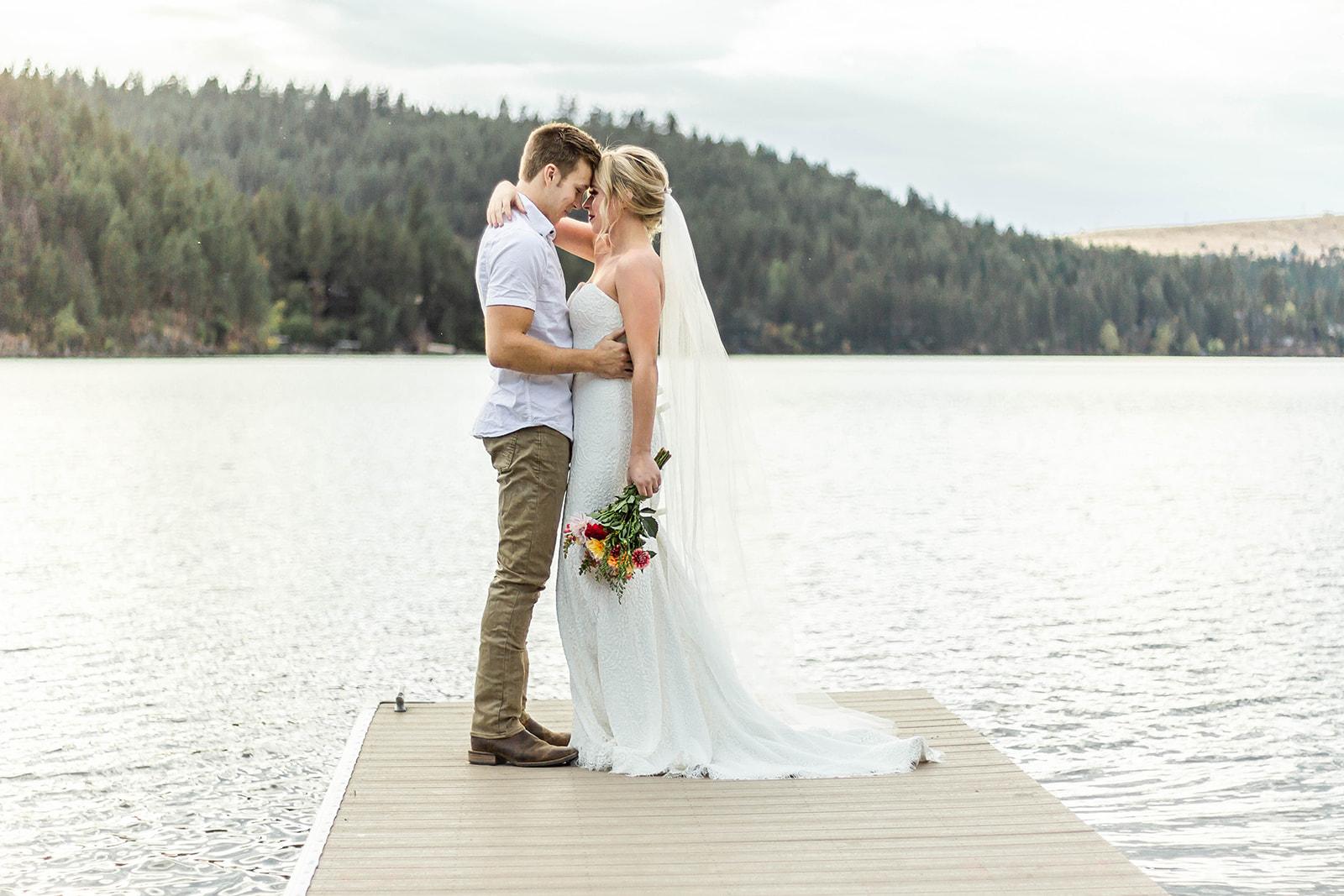 Liberty Lake Washington Wedding Dress Photo shoot 7