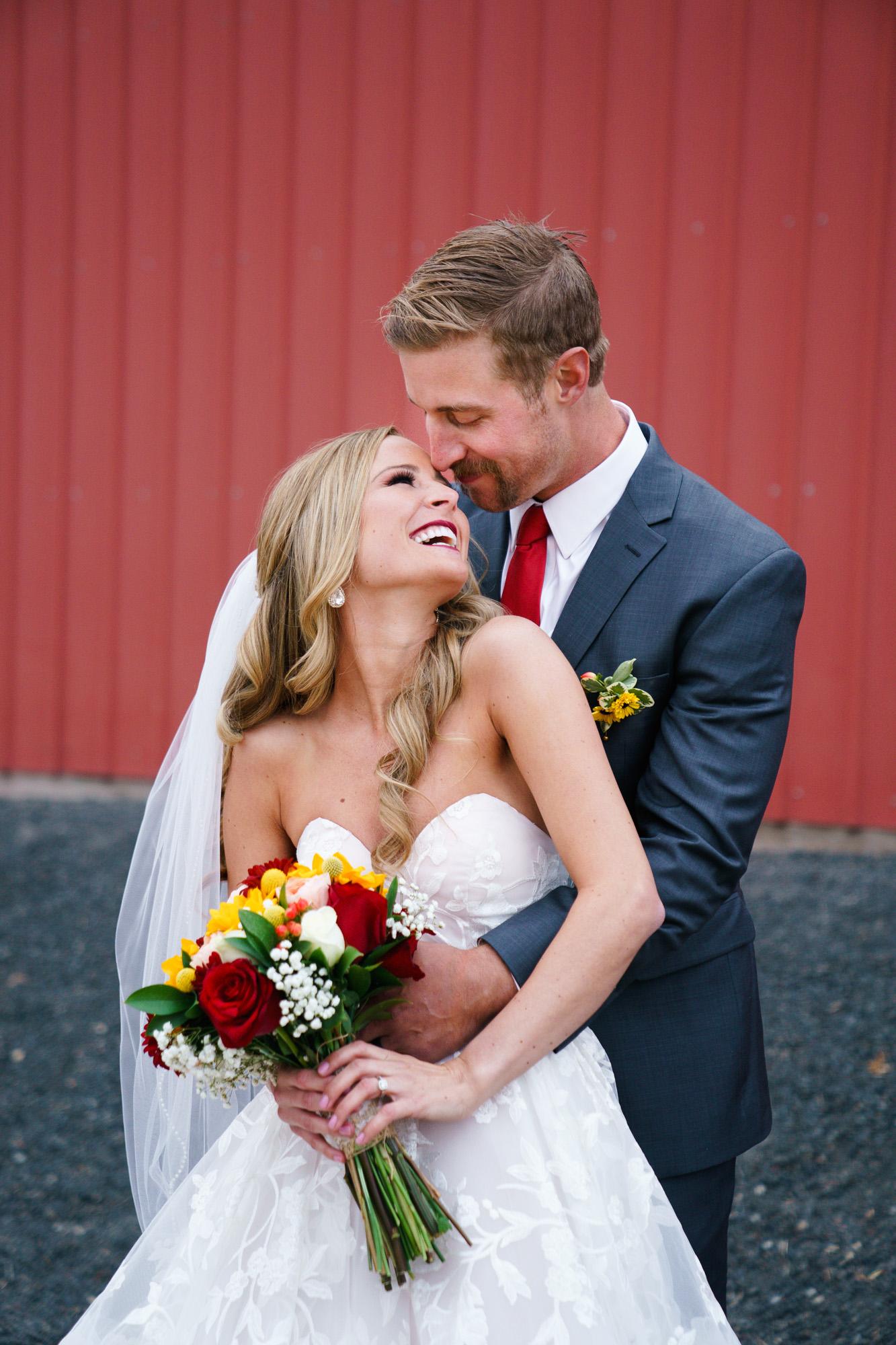real bride Kenzi and Kameron spokane wedding