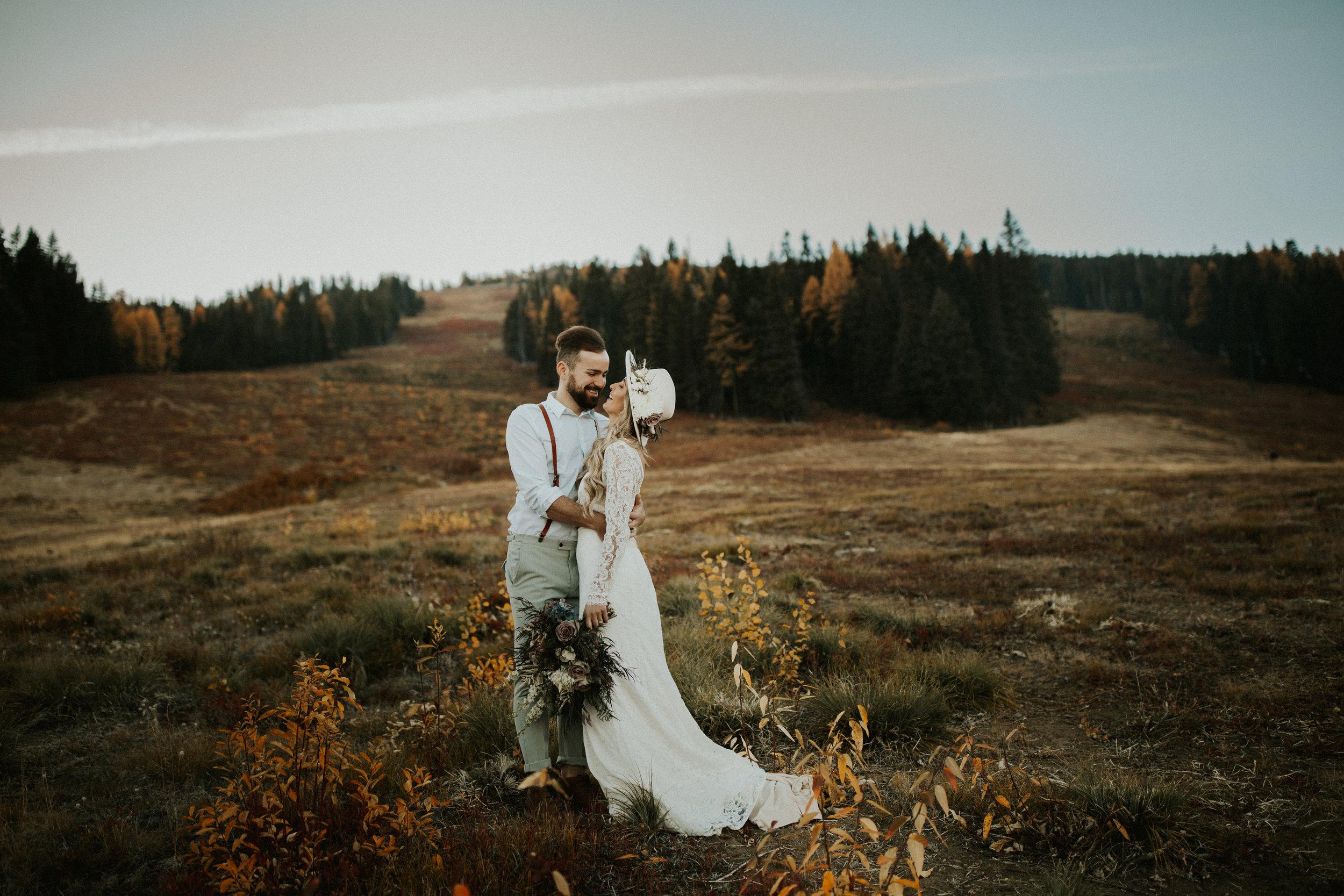 bridal spokane photo shoot bride and groom
