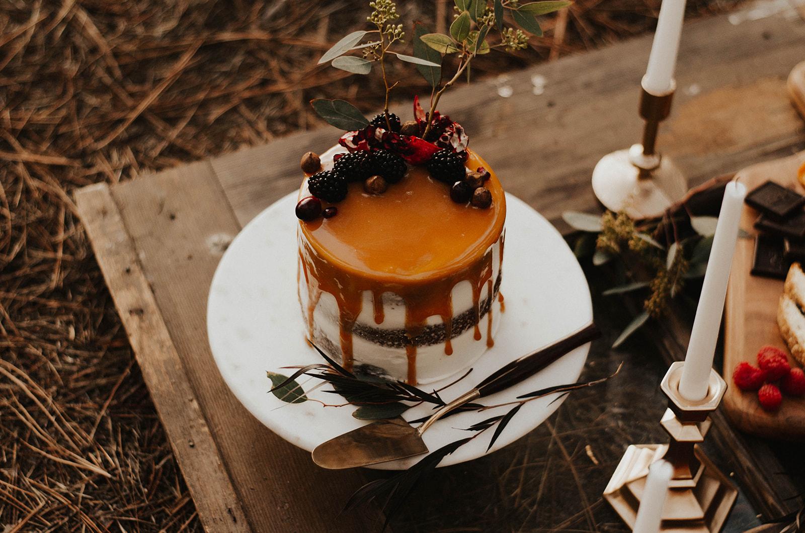 Wedding cake Carmel spokane