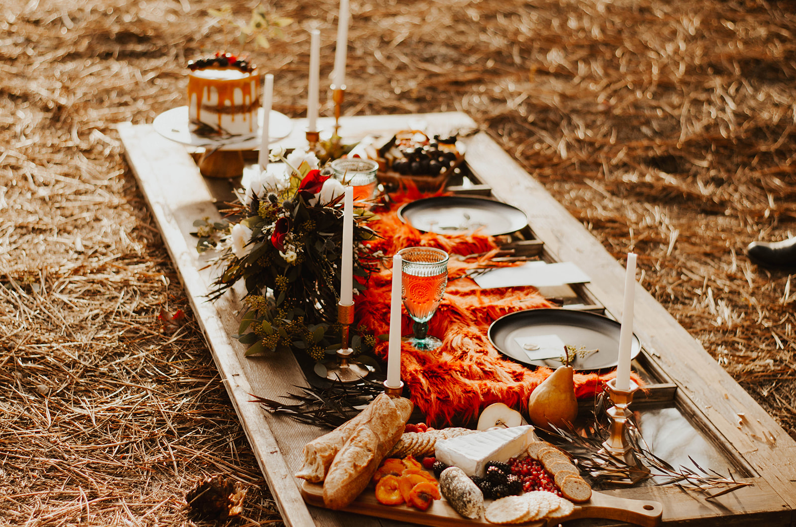 spokane wedding elopement plated meal image