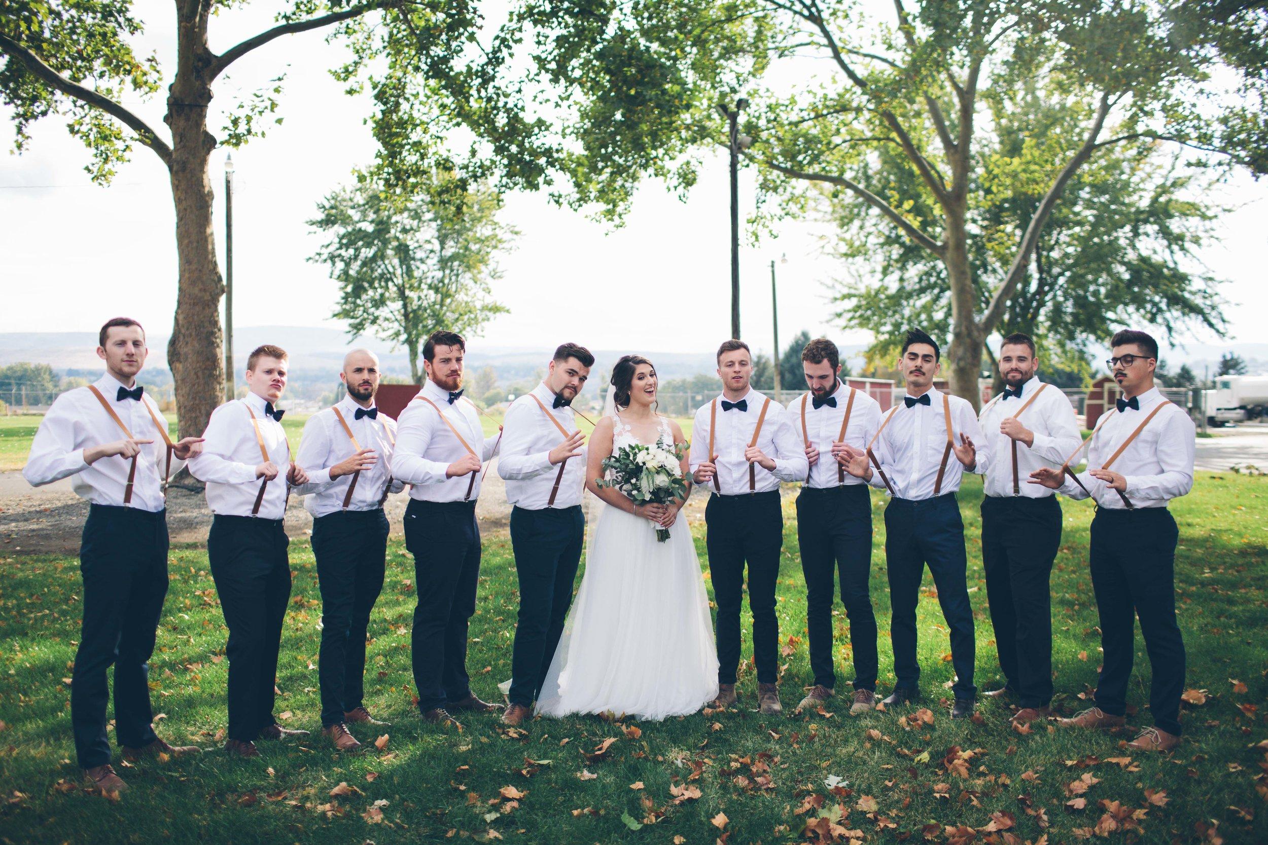 groomsman wedding real spokane