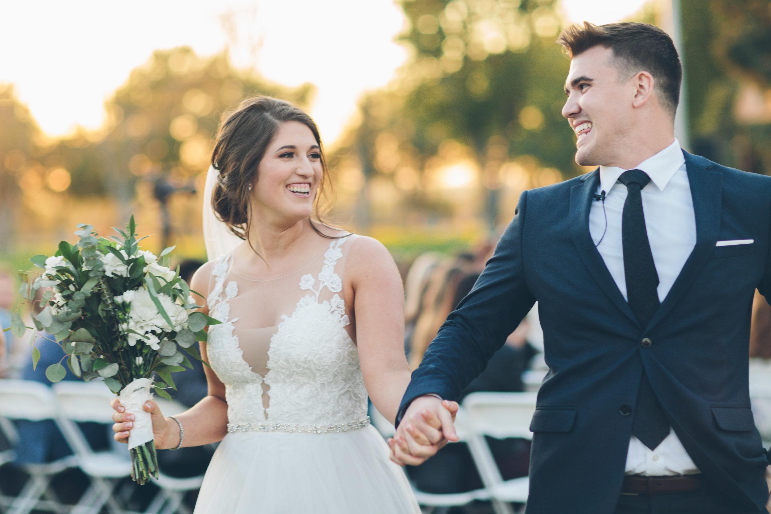 wedding reception bride and groom spokane image