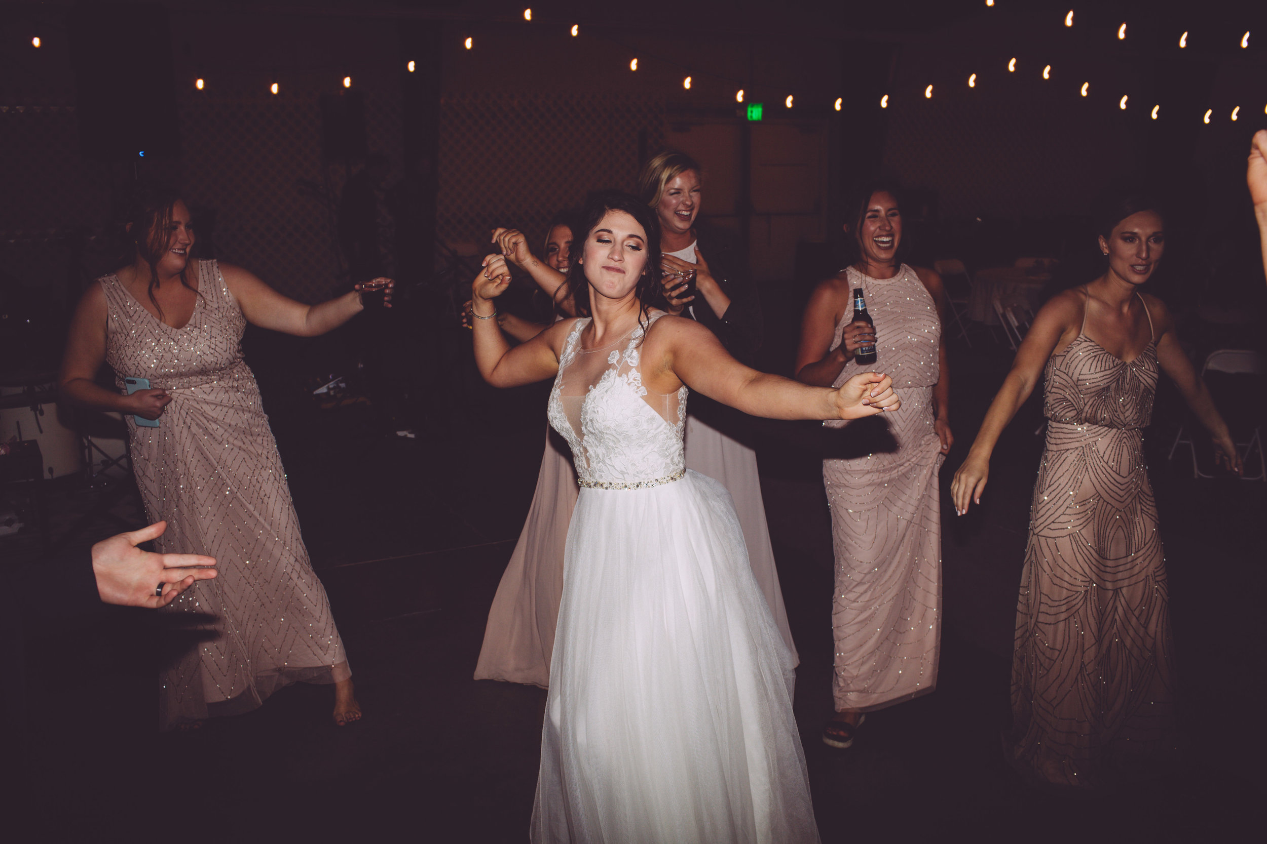 bride dancing reception spoken wedding