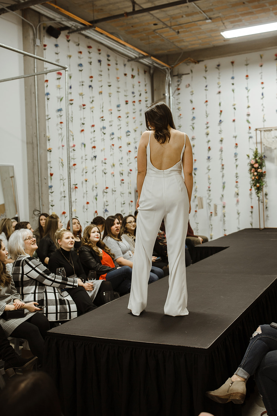 spokane wedding dress bridal pantsuit fashion show