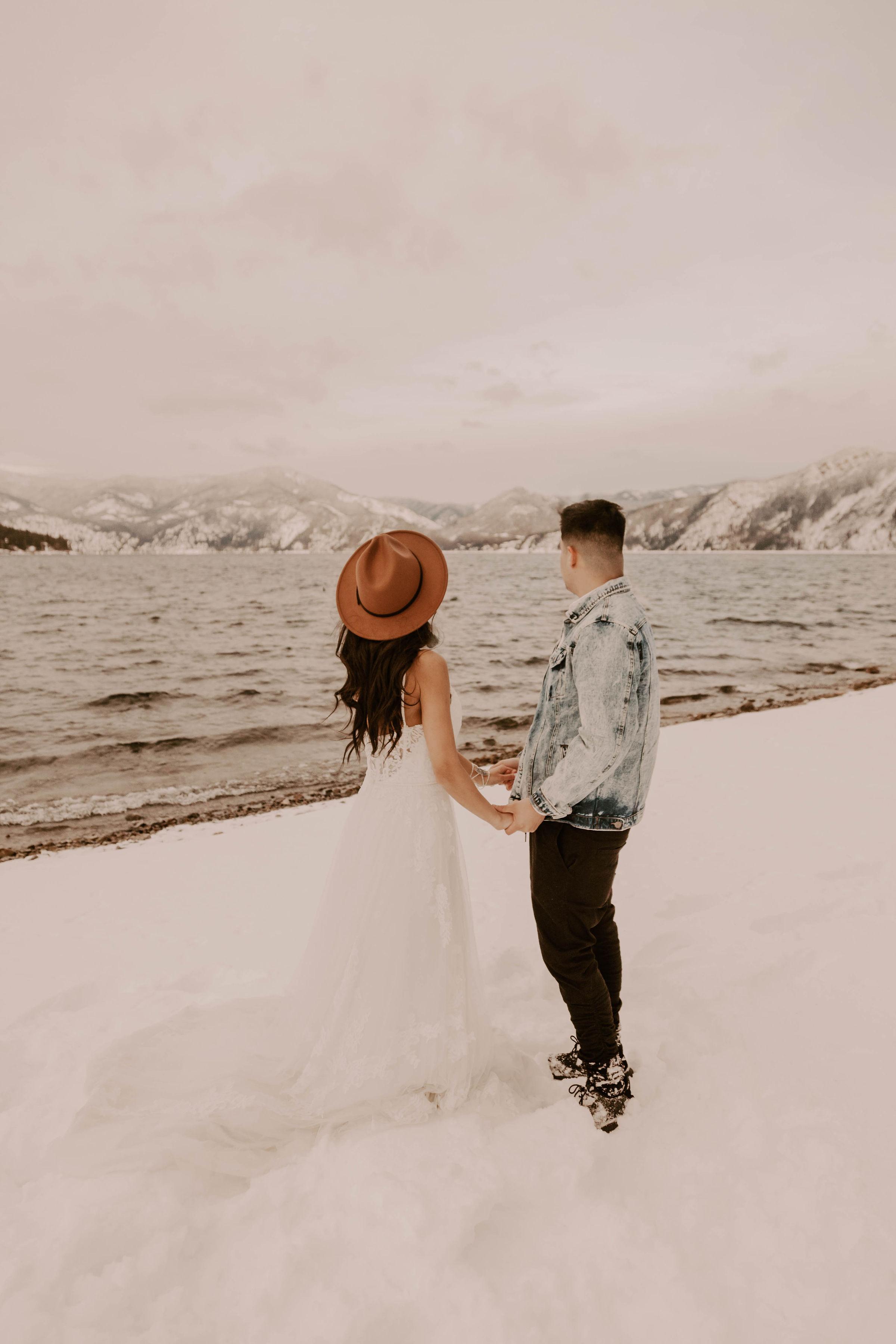 spokane wedding dress couple