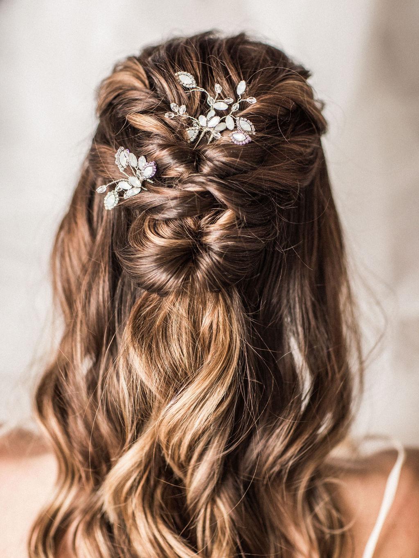 Sara Gabriel veils accessories bridal hair spokane