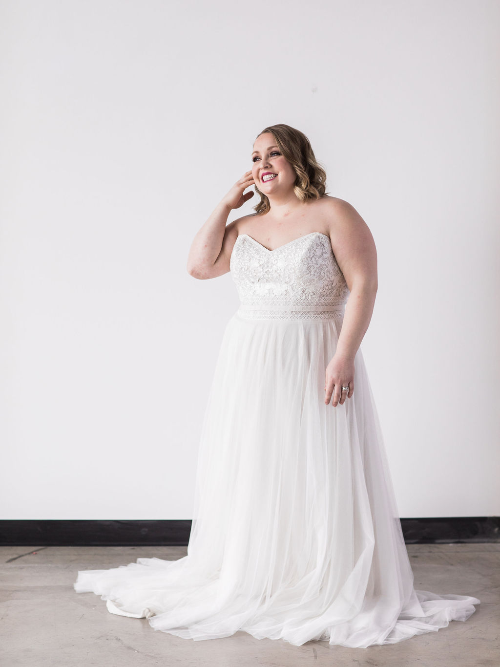 Plus size bride wedding dress spokane