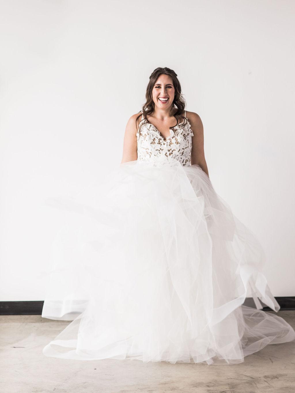 Hayley Paige ballgown wedding dress bride spokane