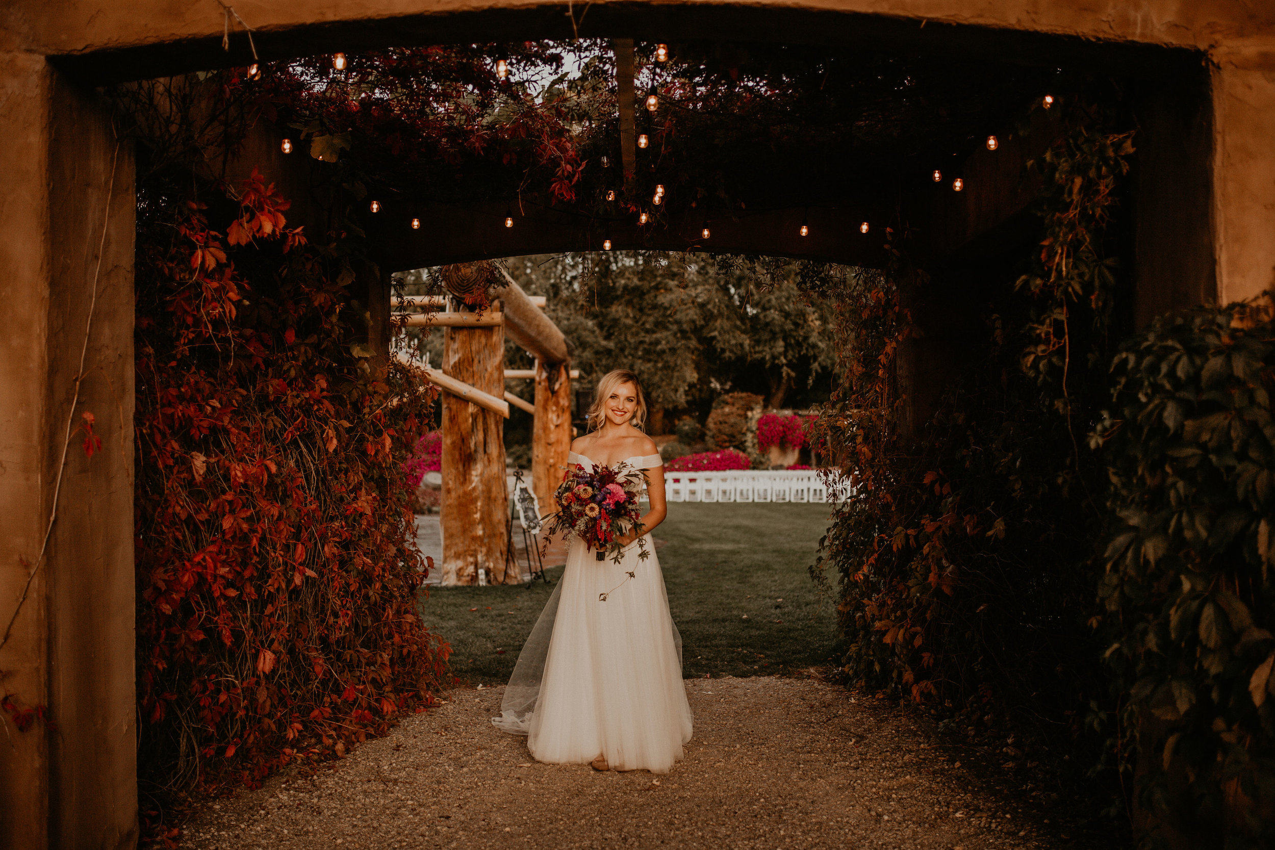 fall wedding venue bride spokane